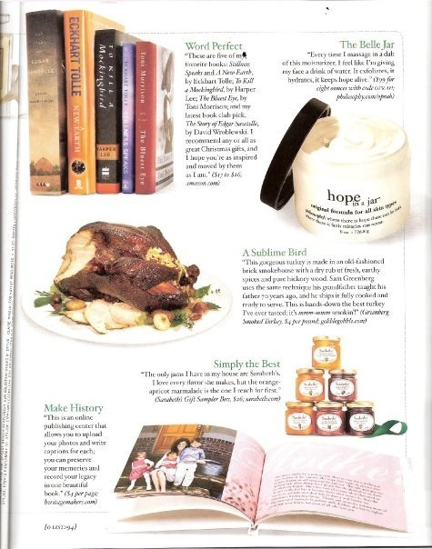 Heritage Makers is one of OPRAH'S ALL-TIME Favorite Things!