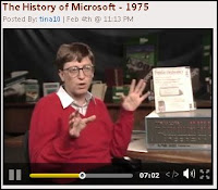 Bill Gates reminisces about the early years in 'The History of Microsoft'