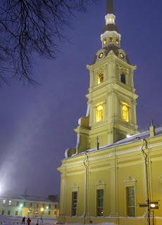 Invierno en San Petersburgo