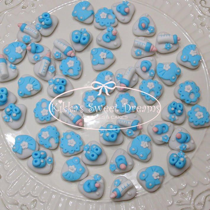Très Kikka's Sweet Dreams: Confetti decorati per Battesimo! CP39