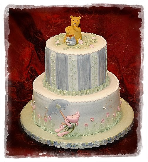 Old fashioned winnie the pooh baby shower 61