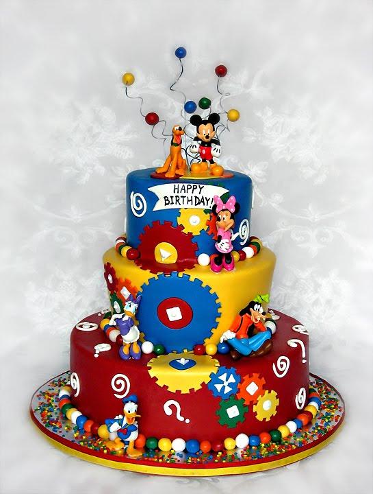 Staceys Sweet Shop Truly Custom Cakery Llc A Bright Fun Cake