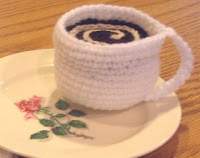 Free amigurumi coffee cup crochet pattern