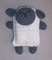 Free crochet lamb amigurumi pattern