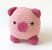 Free pig amigurumi pattern