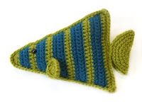 Free angel fish amigurumi crochet pattern