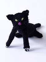Crochet Amigurami Halloween cat free pattern