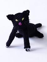 Crochet Amigurami Halloween cat free pattern