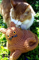 Fat kitty cat free amigurumi pattern