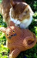 Fat kitty cat free amigurumi pattern