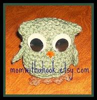 Free crochet amigurumi owl pattern