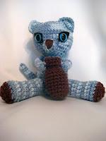 Free crochet kitten amigurumi pattern