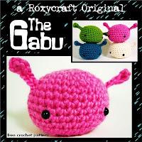 Free crochet pattern amigurumi gabu