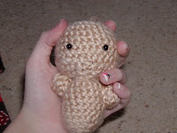 Free crochet fetus amigurumi pattern