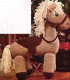 Free crochet pony pattern