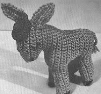 Free donkey pattern crochet
