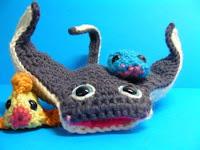 Free amigurumi manta ray crochet pattern