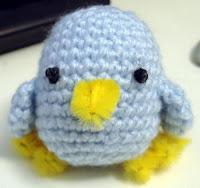 Free crochet amigurumi chick pattern