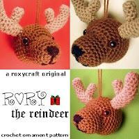 Free crochet amigurumi reindeer pattern