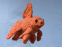 Free goldfish crochet pattern