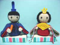 Free japanese amigurumi doll crochet pattern