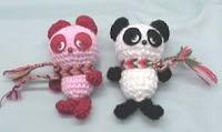 Free panda amigurumi pattern