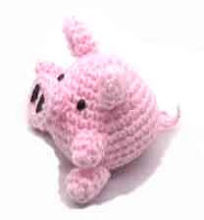 Free Amigurumi Patterns: Amigurumi Pig