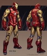Amazzzzing Iron Man Design Concept by Harald Belker & Paul Saunders