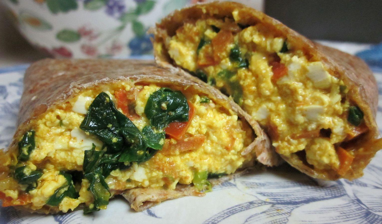 Karen's Vegan Kitchen: Breakfast Scramble Wrap