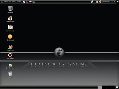 pclinuxos gnome 2008 screenshot