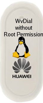 wvdial without root permission in linux