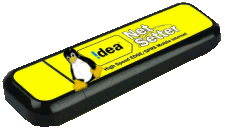 configuring idea net setter wireless internet on linux
