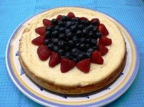 Low Fat Cheesecake with Berries Recipes