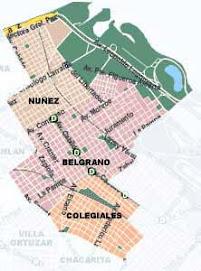 Mapa Comuna Nº 13
