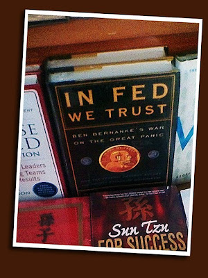 book title: in fed we trust
