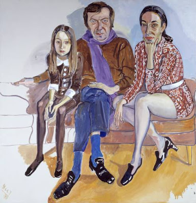 Alice Neel's 'The Family (John Gruen, Jane Wilson and Julia)'