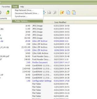 Kembalikan File Terhidden Virus 1
