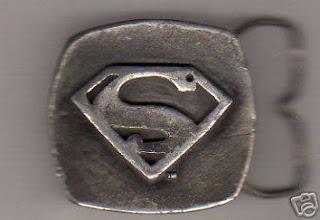1970's Superman Belt Buckle