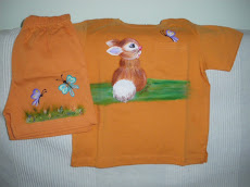 Conjunto infantil pintado