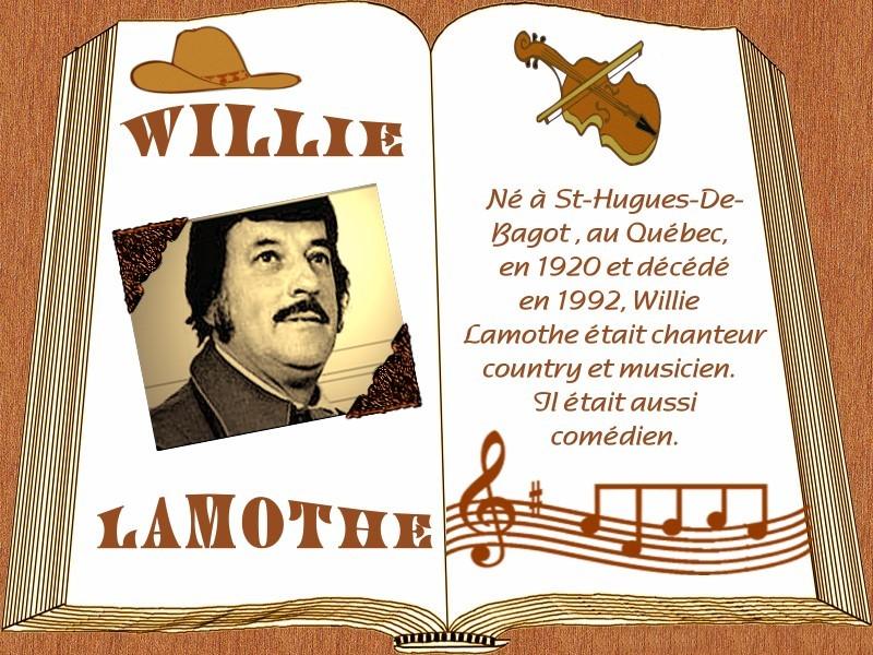 Personnes célèbres réelles ou imaginaires - Page 21 WILLIE_LAMOTHE