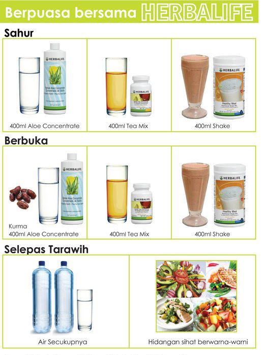 diet dengan shake