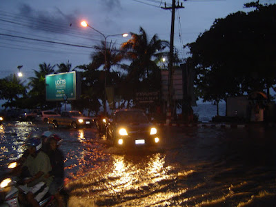 Jomtien area after downpour