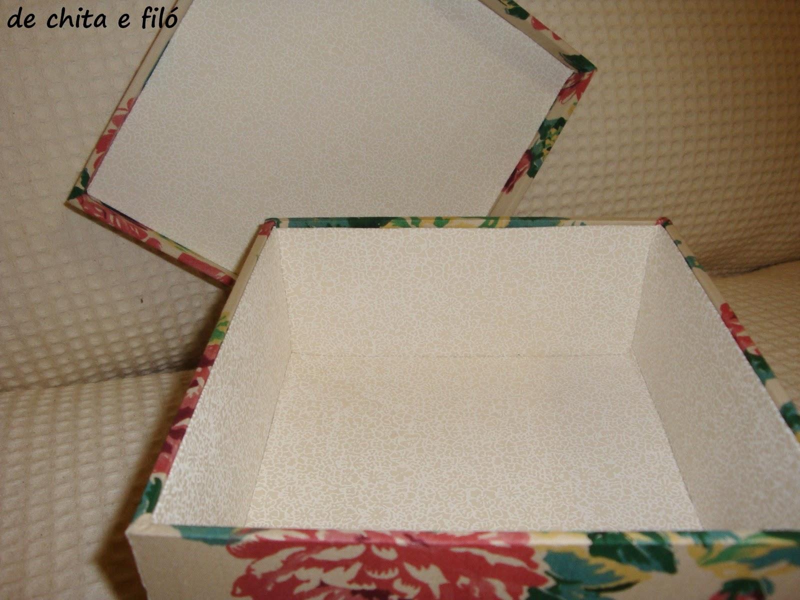 de chita e filó: Produtos novos: caixas decorativas forradas com  #6F3F2B 1600x1200