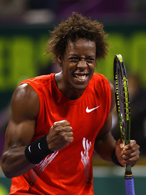 gael monfils hair. Gael Monfils couldn#39;t have