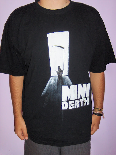 T-shirt Mini Death by Alez ;)