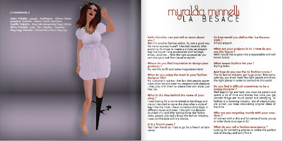Icon May Editorial 7 GLANCE   Second Life Fashion PR Agency | Our Media Coverage