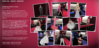 ICTC3 GLANCE   Second Life Fashion PR Agency | Our Media Coverage