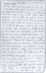 Handwriting of John Keats