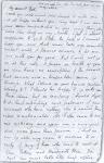 Handwriting of John Keats