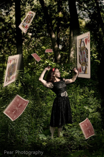 Alice and the deck of cards
